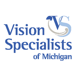 Vision Specialists of Michigan testimonials page logo