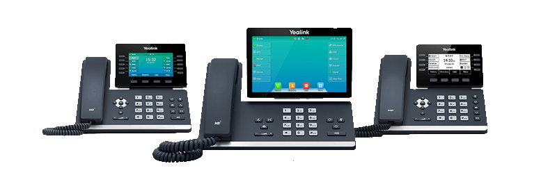Yealink Bluetooth Enabled T5 Series Phones