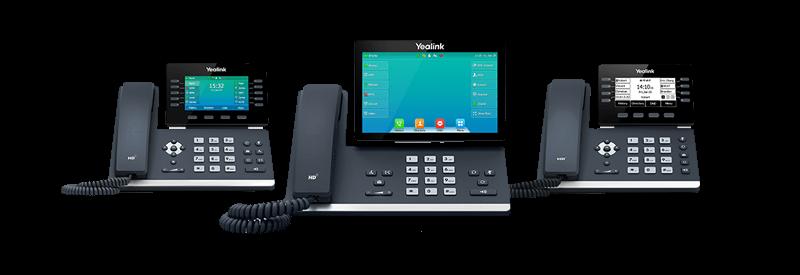 Yealink Bluetooth Enabled T5 Series Phones