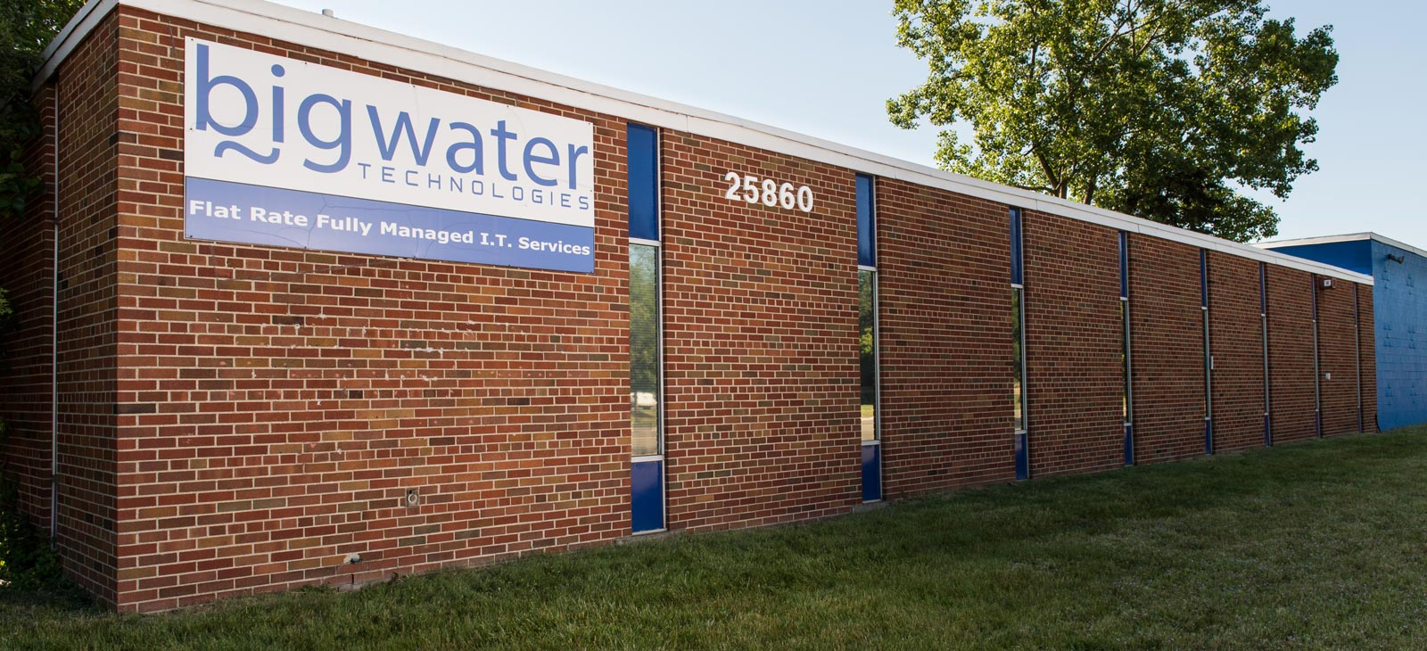 big water technologies building